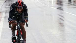 Jhonatan Narváez durante la duodécima etapa del Giro.
