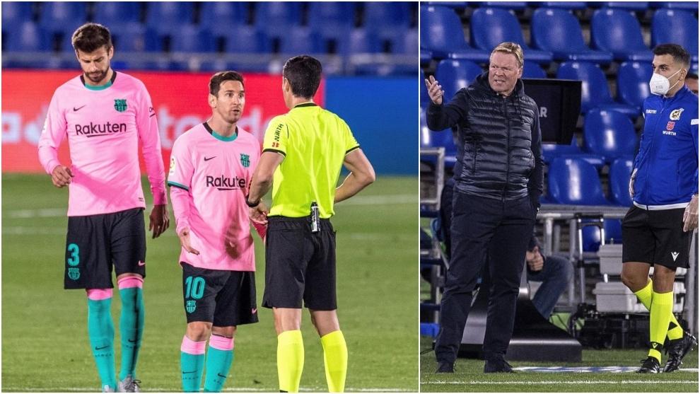 Las 'quejas' del Barcelona contra el Getafe: todo esto sacó de quicio a Koeman