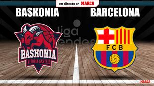 Baskonia - Barcelona en directo