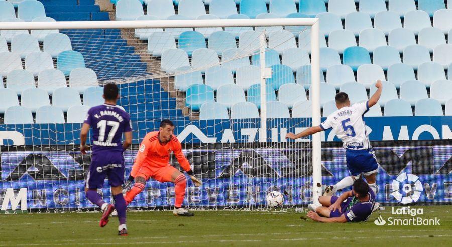 Caye Quintana remacha el segundo gol andaluz en La Romareda