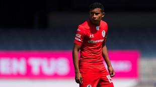El joven debutó con los Diablos Rojos contra Pumas en Ciudad...