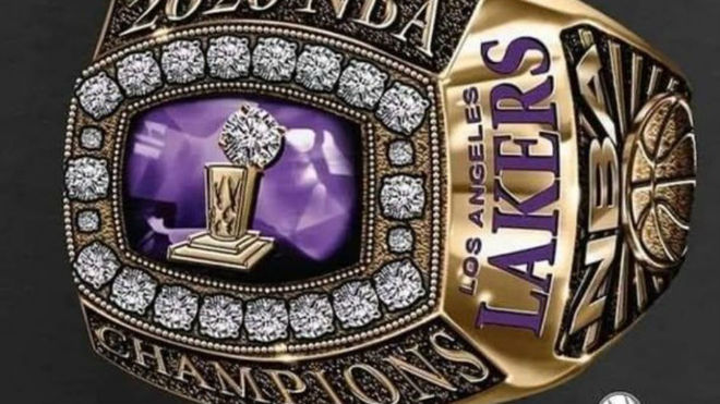 Los Angeles Lakers championship ring design leaked   MARCA ...