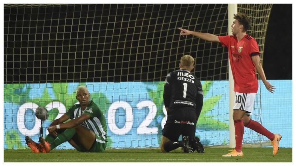 Luca Waldschmidt dedica su gol a Darwin Núñez.