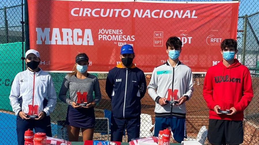 Antonio Prats y Berta Miret ganan el MARCA Promesas de la Sánchez-Casal