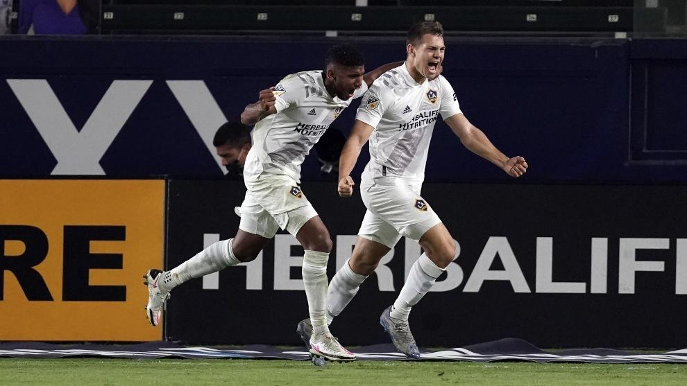 El Galaxy corta racha de siete partidos sin ganar en MLS.