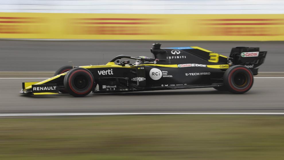 Ricciardo, en Nürburgring.