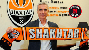Luís Castro, entrenador del Shakhtar Donetsk