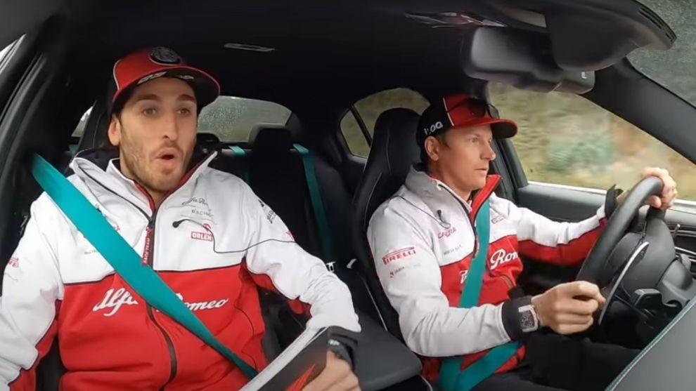 El 'infierno' de Giovinazzi junto a Kimi Raikkonen en el Nordschleife a bordo de un Alfa Giulia