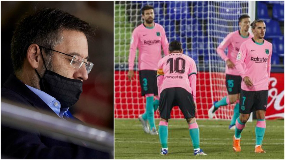 Barcelona board and players enter war over salary cuts