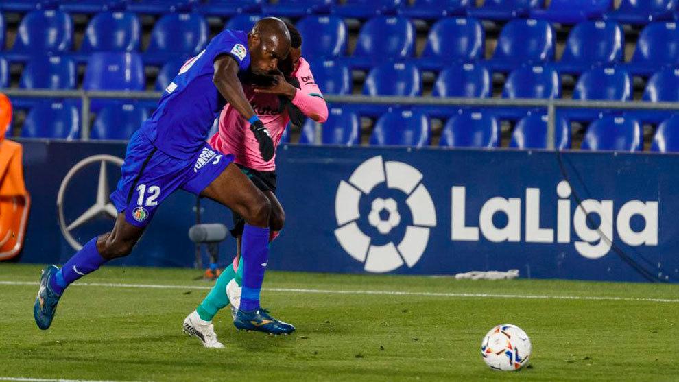 Nyom and Ansu Fati, Getafe vs Barcelona