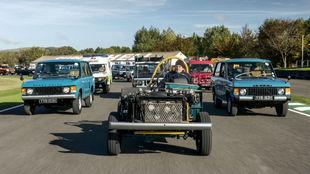 Un chasis manejable de 1969 encabeza el desfile de Range Rover en...