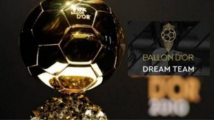 'France Football' presenta el Balón de Oro Dream Team