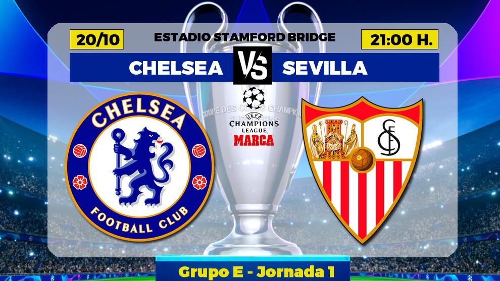 Chelsea - Sevilla FC: horario, canal y donde ver en TV hoy el partido...