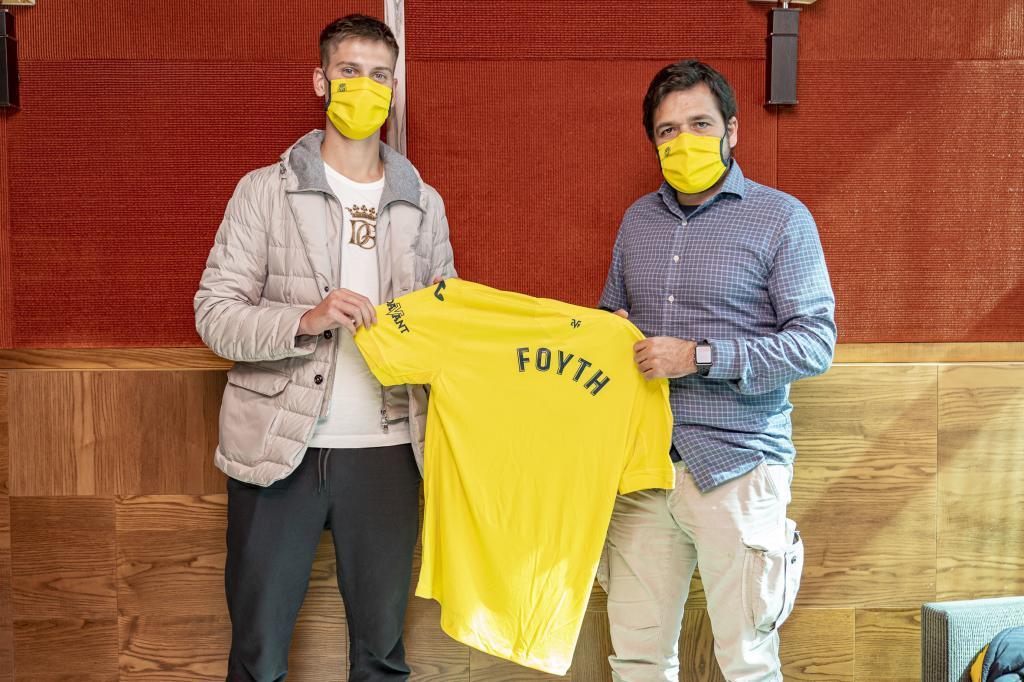 Juan Foyth (23) el día de su presentación con el Villarreal.