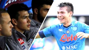 Chucky Lozano brilla con el Napoli, es líder de goleo.