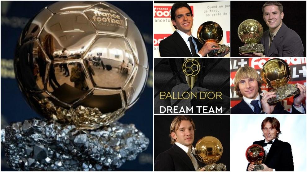 Les exclusions choc des nominés du Ballon d'Or Dream Team: Shevchenko, Modric, Kaka.
