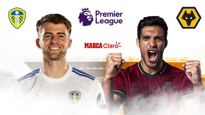 Leeds United, Wolves, Raúl Jiménez en vivo.