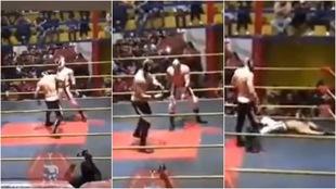 Tragedia en la lucha libre