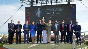 Presentación de la Solheim Cup 2023 en Puerto Banús (Marbella).