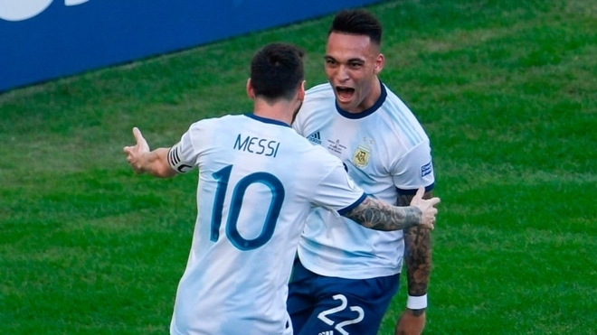 Lautaro reveals the characteristic which puts Messi above the rest