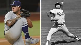 Julio Urías y Fernando Valenzuela, presente y pasado del béisbol...