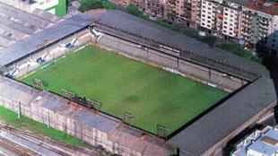 Estadio de Atocha.