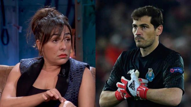 La Resistencia: Candela Peña e Iker Casillas.