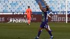 Pablo Chavarría celebrando el gol en el partido entre el Málaga CF y...