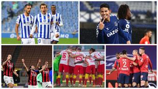 Los sorprendentes cinco líderes de las grandes ligas