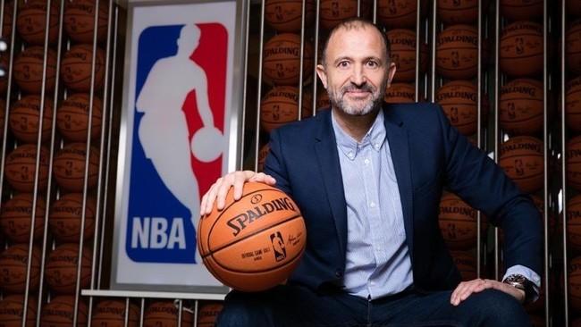 Jesús Bueno, videpresidente de la NBA para Europa y Oriente Medio.
