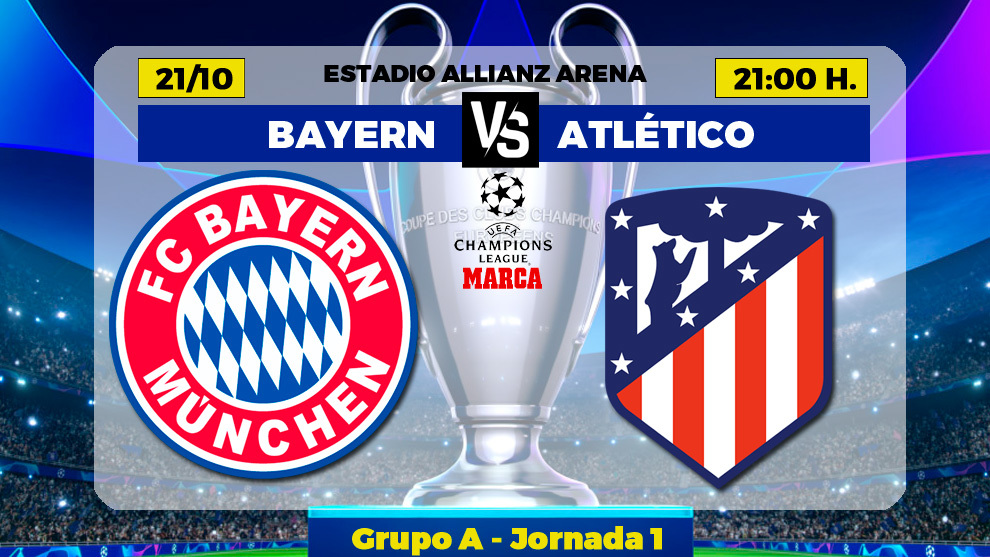 Bayern Vs Atletico Champions League Bayern Munich Vs Atletico Madrid What Time Does It Start Where Is The Match Broadcast On Tv Marca In English