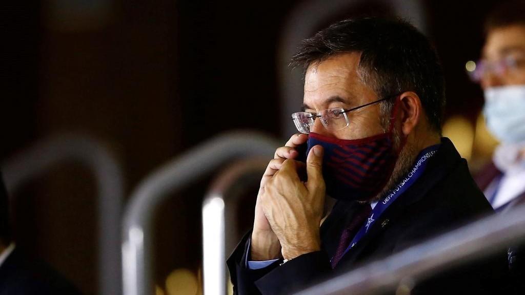 FC Barcelona: Bartomeu, confinado por haber tenido contacto con un positivo en coronavirus | Marca.com
