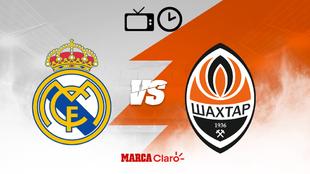 Real Madrid vs Shakhtar en vivo transmisión online y en directo