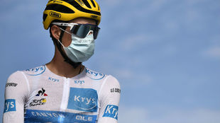 Enric Mas, en la Vuelta