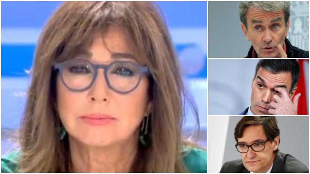 Ana Rosa Quintana Estalla Contra Fernando Simón Pedro Sánchez Y Salvador Illa Marca Com