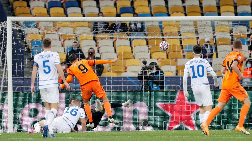 Un doblete de Morata da la victoria a la Juventus en su debut, sin Cristiano, en Kiev