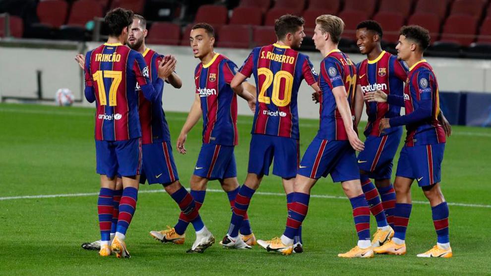 Barcelona player ratings vs Ferencvaros