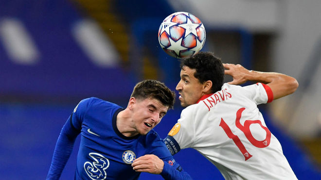 Sevilla return to the Champions League with goalless draw at Chelsea