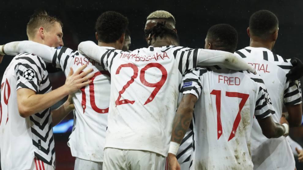 Manchester United derrota al Paris Saint-Germain
