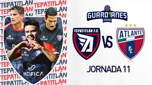 Tepatitlan FC vs Atlante en vivo