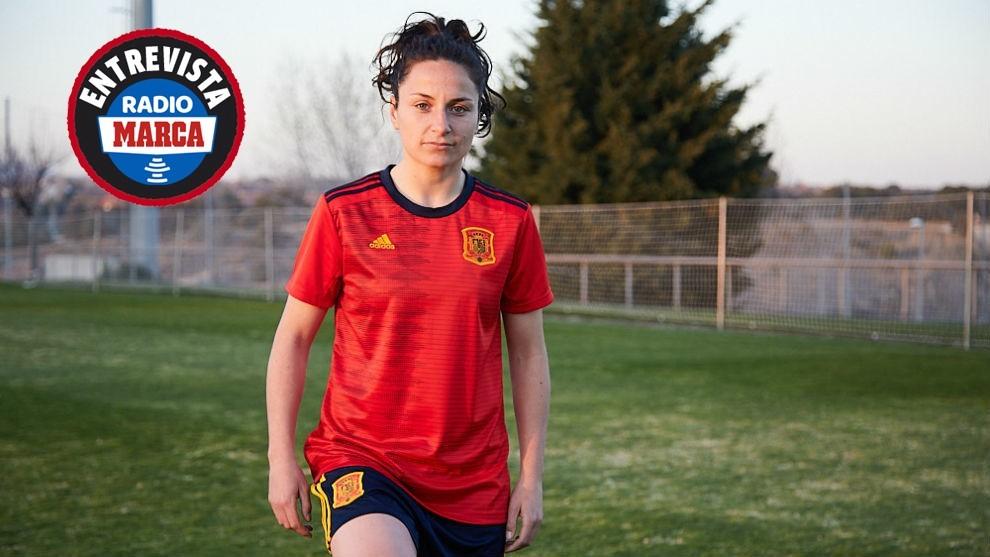 """Ivana Andrés: """"Me veo como futbolista del Real Madrid y de la selección y alucino"""""""