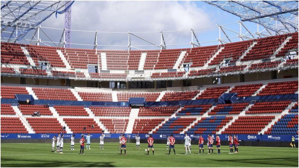 Foto de archivo del estadio El Sadar.