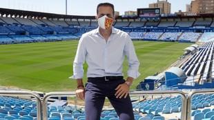 Baraja, técnico del Zaragoza.