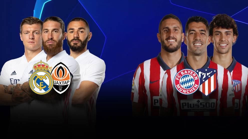 Reak Nadrid y Atletico de Madrid