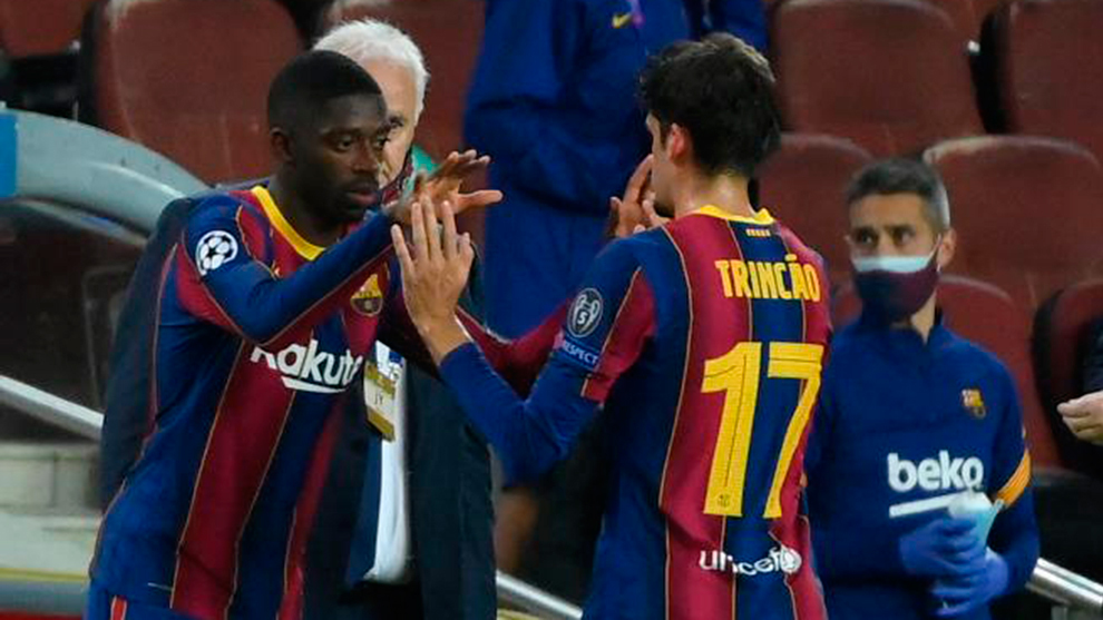Barcelona's abundance of talented wingers