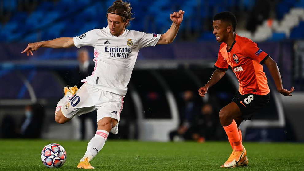 Real Madrid vs Shakhtar: Modric: Real Madrid weren't at the races in the first half | MARCA in English