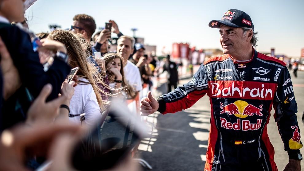 Para David Richards, Sainz será el favorito para el Dakr 2021.
