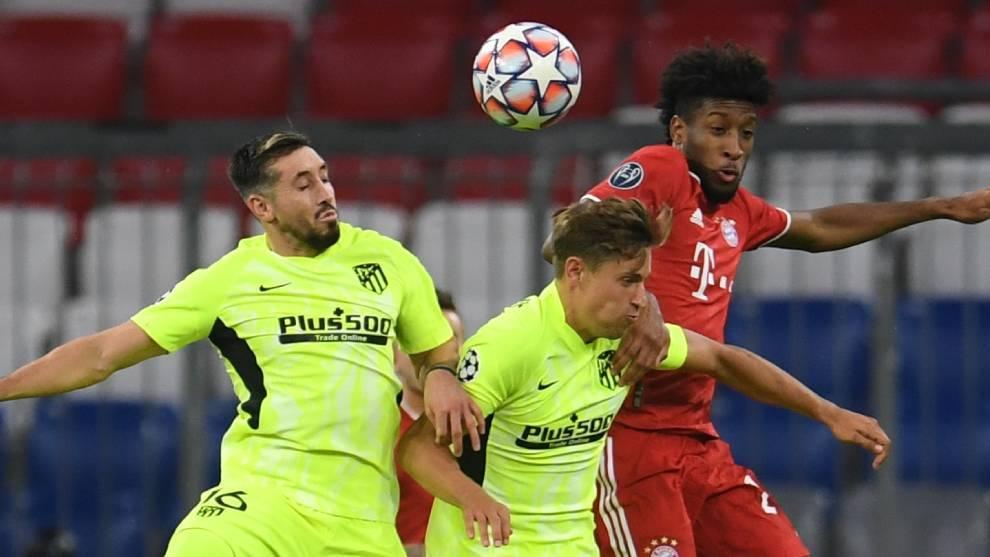 Héctor Herrera, criticado por su titularidad y error ante el Bayern