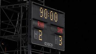 El marcador del Di Stéfano tras el Real Madrid-Shakhtar.