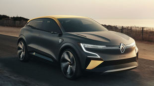 El Renault Mégane eVision.